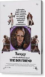 The Boy Friend, Us Poster Art, Twiggy Acrylic Print by Everett