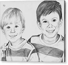 The Boys Acrylic Print