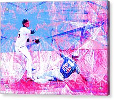 The Boys Of Summer 5d28208 The Double Play V2 Acrylic Print by Wingsdomain Art and Photography