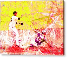 The Boys Of Summer 5d28208 The Double Play V3 Acrylic Print by Wingsdomain Art and Photography