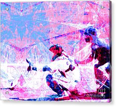 The Boys Of Summer 5d28228 The Catcher V3 Acrylic Print by Wingsdomain Art and Photography
