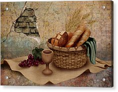 The Bread Of Life Acrylic Print