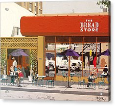 The Bread Store In Midtown Acrylic Print by Paul Guyer
