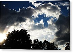 Acrylic Print featuring the photograph The Break Up by Deborah Fay