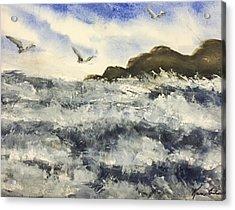 The Breeze  Acrylic Print by Karen  Condron