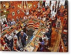 The Brick Store Pub Acrylic Print