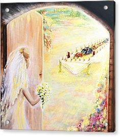 The Bride Acrylic Print by Helene Fallstrom