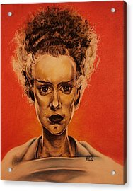 The Bride Of Frankenstein Acrylic Print