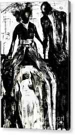 The Bride Acrylic Print by Rc Rcd