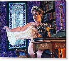 The Bridesmaid Acrylic Print by Jo King