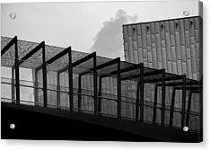 The Bridge Acrylic Print by Andrew Menzies