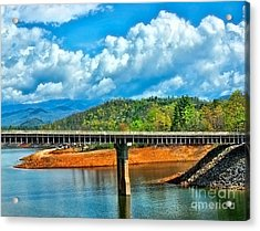 The Bridge Acrylic Print by B Wayne Mullins