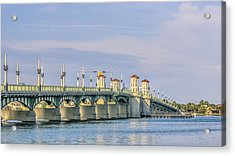 The Bridge Of Lions Acrylic Print
