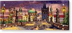 The Bridge Of Magic Acrylic Print by Dmitry Koptevskiy