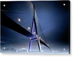 The Bridge Of Normandie Acrylic Print
