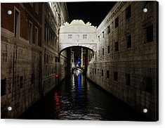 The Bridge Of Sighs Acrylic Print