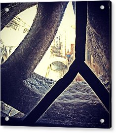 The Bridge Of Sighs...the Last View Of Acrylic Print