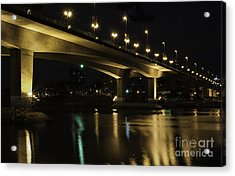 The Bridge Over False Creek Acrylic Print