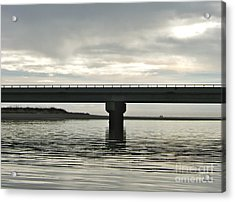 Acrylic Print featuring the photograph The Bridge by Paul Foutz