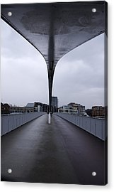 The Bridge Acrylic Print by Rajiv Chopra