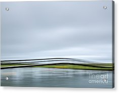 The Bridge Acrylic Print by Susan Cole Kelly Impressions