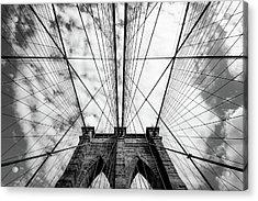 The Bridge Acrylic Print by Susumu Nihashi