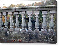 The Bridge To Knowledge Acrylic Print by Linda Prewer