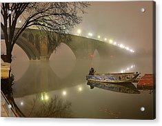 The Bridge To Nowhere Acrylic Print