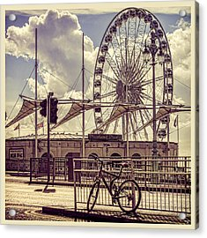 Acrylic Print featuring the photograph The Brighton Wheel by Chris Lord