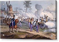 The British Royal Horse Artillery - Acrylic Print