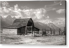 The Broken Fence Acrylic Print by Kathleen Struckle