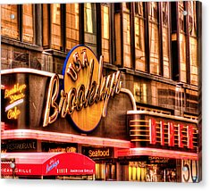 The Brooklyn Diner And Cafe 001 Acrylic Print