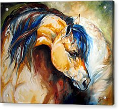 The Buckskin Acrylic Print