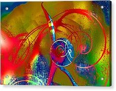 The Bud Acrylic Print by Jeff Burgess