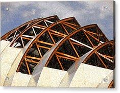 The Building Of Kauffman  Acrylic Print