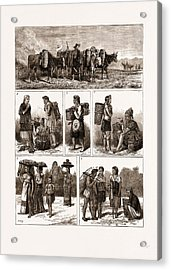 The Burmese Frontier Difficulty Acrylic Print by Litz Collection