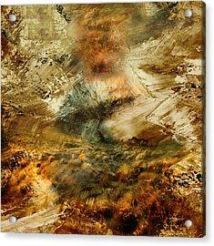 The Burning Bush - Abstract Realism Acrylic Print by Georgiana Romanovna