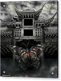 The Butterfly Effect Acrylic Print by Larry Butterworth