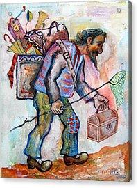 The Butterfly Hunter Acrylic Print by Milen Litchkov