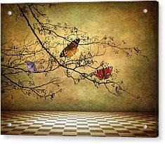 The Butterfly Room Acrylic Print