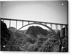The Bypass Bridge  Acrylic Print by Yousif Hadaya