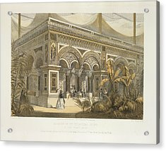 The Byzantine Court Acrylic Print by British Library