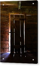The Cabin Door Acrylic Print by David Lee Thompson