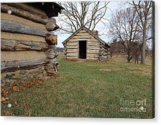 The Cabins Acrylic Print