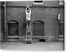 The Cable Man  Acrylic Print