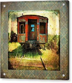 The Caboose Acrylic Print