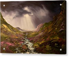 The Cairngorms In Scotland Acrylic Print by Jean Walker