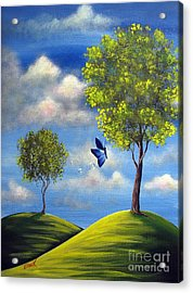 The Call Of Spring By Shawna Erback Acrylic Print by Shawna Erback