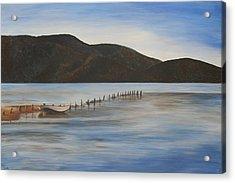 The Calm Water Of Akyaka Acrylic Print