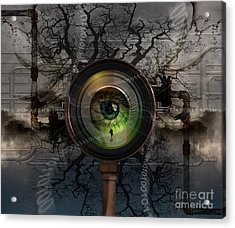 The Camera Eye Acrylic Print by Keith Kapple
